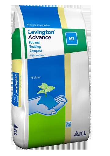 Levington Advance Pot & Bedding M3 Levington Advance Pot & Bedding M3