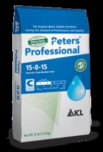 Peters Peat-Lite Special® 15-0-15 Dark Weather Feed